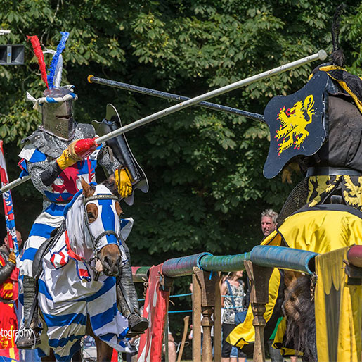 Cressing Temple Barns Joust & Medieval Fayre - Saturday 31st August -  Sunday 1st September 2019